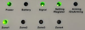 status LEDs 2