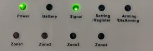 status LEDs